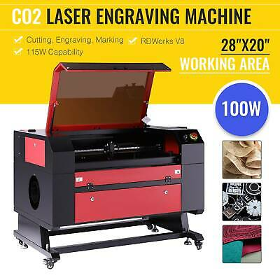 "40W CO2 Laser Engraving Machine 12""x 8"" Engraver Cutter w/ USB Port"