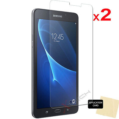 2x CLEAR Screen Protector Covers for Samsung Galaxy Tab A 7.0 Inch SM-T280 T285