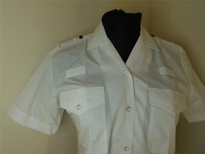 NEW Genuine WPC short SLEEVE Woman Police Officer White Shirt Blouse wpc Uniform