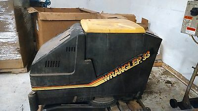 NSS Wrangler 33 Floor Sweeper Scrubber Battery operated 36Volt with charger