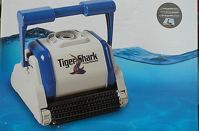 Tigershark Automatic Swimming Pool Vacuum Cleaning Robot