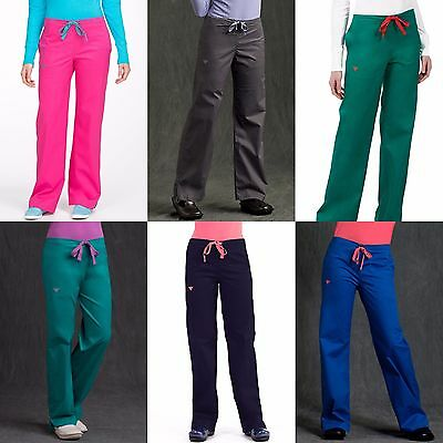 New Women Med Couture Nursing Uniform Signature Scrub Pants Xs-Xl #8705