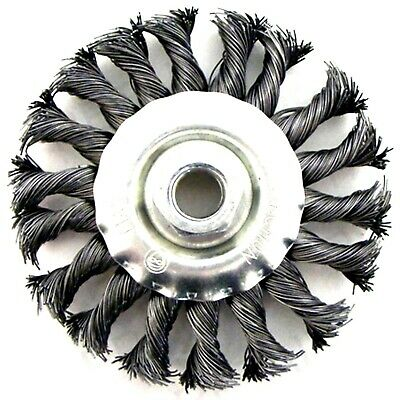 TWIST KNOT WIRE WHEEL BRUSH Clean Welds Remove Paint / Rust For ANGLE GRINDERS