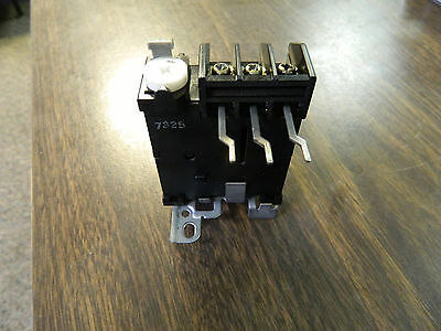 Fuji Electric Overload Relay, TR-0 ,TR-O, 0.64 - 0.96 Arc, Used, WARRANTY