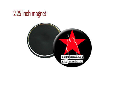 """Rage Against the Machine Rock Killing in the Name Of 2.25"""" Magnet"""