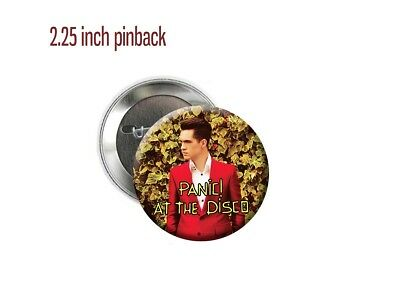 """Panic! At the Disco Death Of a Bachelor Brendon Urie 2.25"""" Pinback Button"""