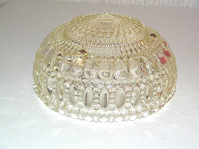 Stunning Antique Clear Glass Ceiling Light Fixture