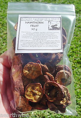 HAWTHORN FRUIT 50g Wicca Witch Pagan Goth