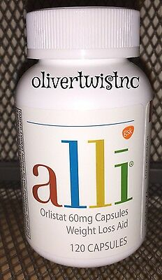 New Alli Orlistat 120 Capsules Factory Sealed Bottle Expires January 2019