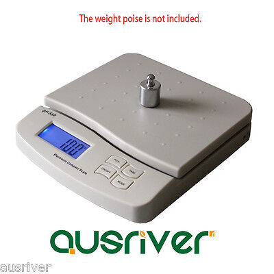 Premium White 10kg/1g Digital Kitchen Scale Commercial Electronic Postal Scales
