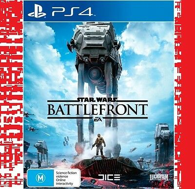Star Wars Battlefront (PS4) NEW * Fast Post *