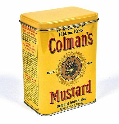 Colman's Mustard Small Storage Tin