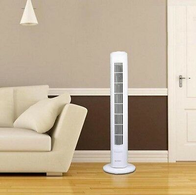 """32"""" Oscillatiing Slim-Line Tower Cooling Fan with 3 Speeds - Low Noise"""