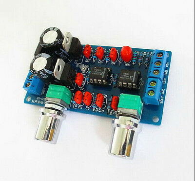 1x Subwoofer Board for Amplifier Finished Low-Pass Filter 78x42x1.6mm 1GU