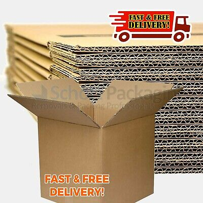 New Quality Double Wall Cardboard Boxes For Removal Postal Mailing Shipping