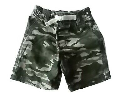 GYMBOREE JUNGLE EXPLORER FROG BELTED WOVEN SHORTS 3 6 18 24 2T NWT