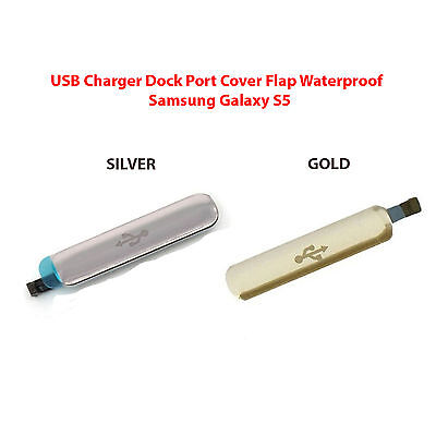 OEM USB Charger Port Cover Flap Waterproof For Samsung Galaxy S5 SV I9600 G900