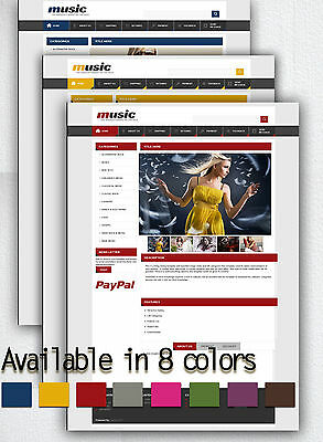 Professional HTML custom eBay auction listing template dynamic page design