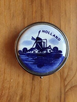 Pill Box From Holland