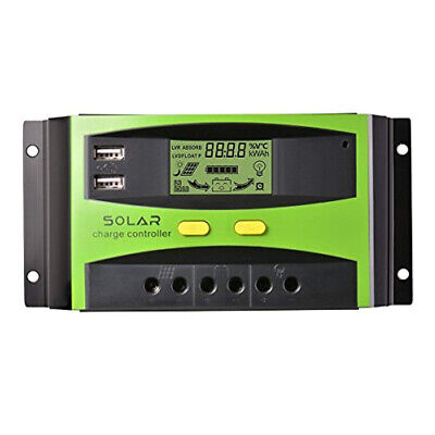 Autoswitch Cargador Regulador de Carga Panel solar Charge Controller 40A 12/24V