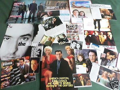 John Cusack - Film Star - Clippings /cuttings Pack
