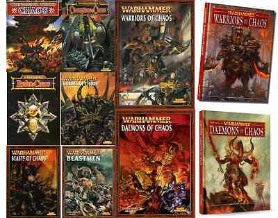 Chaos Army Books Warhammer various select