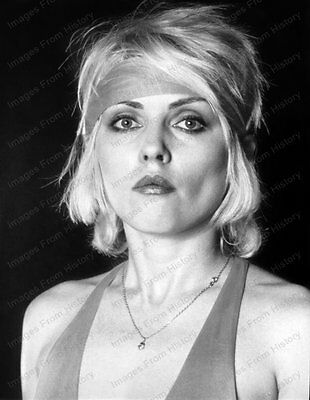 8x10 Print Debra Harry Blondie 1977 #DH78