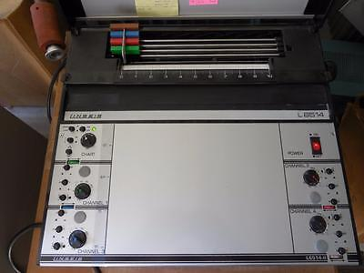 Linseis L6514 4 Channel Flatbed Lab Chart Recorder Graph Chart