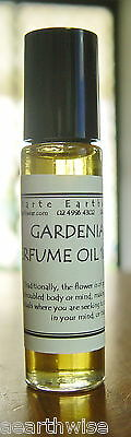 1 x GARDENIA OIL 10mls ROLL ON PERFUME OIL Wicca Witch Pagan Goth Spell