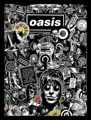 Oasis Poster 5 - A3 Size 297X420Mm - Buy 2 Get 3Rd Free - Uk Seller (Noel/liam)