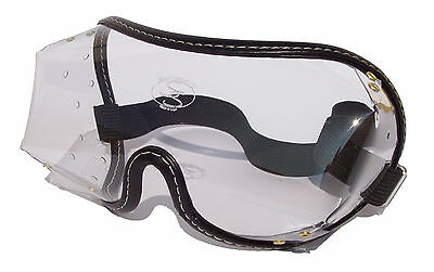 SaftiSports Over the Glasses OTG Horse Riding - SkyDiving Goggles | Clear Lens