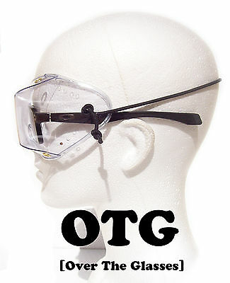 FLEX Z OVER THE GLASSES OTG SkyDiving Parachuting Goggles | Clear Lens