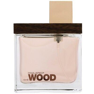 NEW Dsquared2 She Wood Eau de Parfum Spray 100ml Fragrance FREE P&P