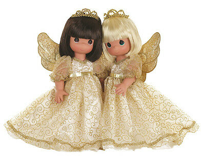 Precious Moments 12 Inch Doll, Angelic Whispers From Heaven, Brunette, New, 6554