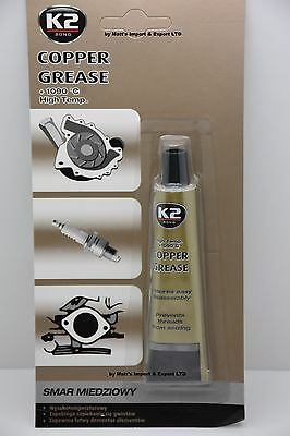 HIGH TEMPERATURE COPPER GREASE UP TO 1090 C° Multipurpose Anti Seize Assembly K2