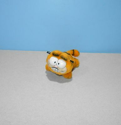 "1981 Dakin 6"" Garfield Stuffed Plush Pal Window Cling Suction Cup Plush"