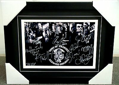 Sons Of Anarchy Signed Frame - Charlie Hunnam, Ron Perlman