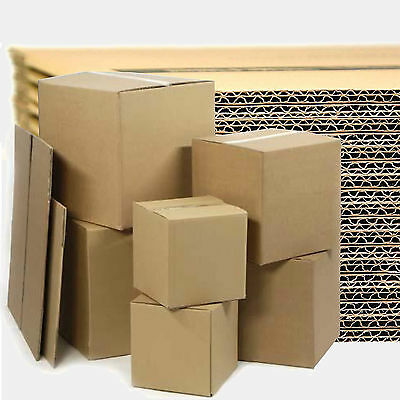 New Double Wall Removal Cardboard Boxes + Free Tape