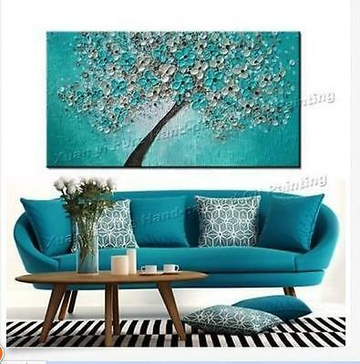 Huge Modern Abstract Large Wall Decor Oil Painting On Art Canvas,Tree(No Frame)