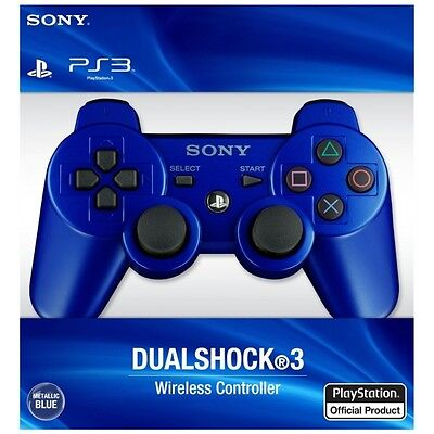 Sony Ps3 Sixaxis Dualshock Wireless Bluetooth Controller Nuovo Blu Originale !!!
