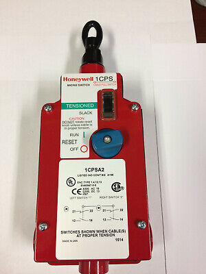 Honeywell estop cable pull switch 1CPSA2 (2NO/2NC) MICRO SWITCH™ Safety Switches