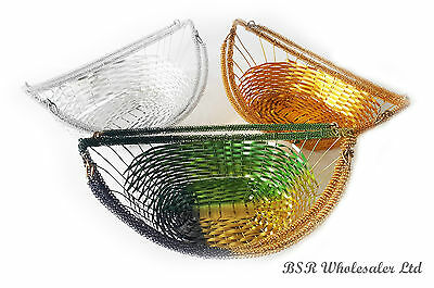 New Wedding Indian Gift Ceremony Birthday Party Flower Basket - 3 Colours