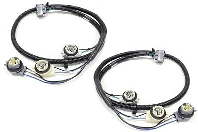 oem new tail light wiring harness rear right & left set 99-05 silverado  sierra