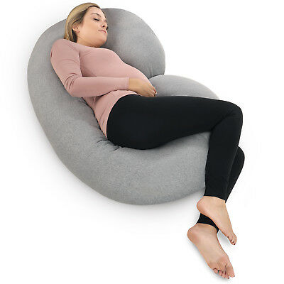 PharMeDoc Pregnancy Pillow - Maternity Full Body Pillow for Pregnant Women