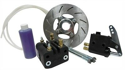 "1 1/4"" Cast Aluminum Hydraulic Brake Kit with 1/8"" Thick Rotor Go Kart Parts New"