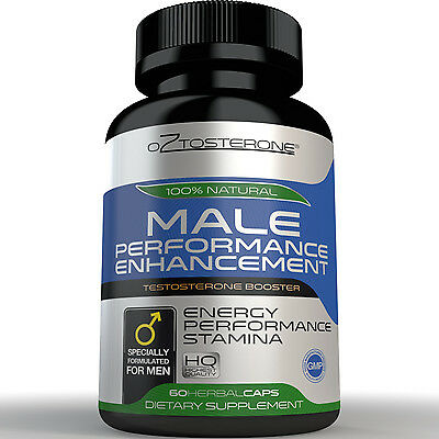 Oztosterone® Male Performance Enhancement - Testosterone Booster for Men