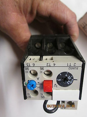 Siemens 3UA52-00-1C direct replacement solid state motor starter overload relay