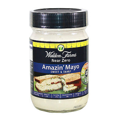 Walden Farms Low Calorie Amazing Mayo 340g (DAIRY FREE-GUILT FREE)