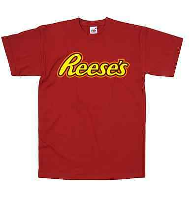 Reeces Candy TShirt All Colours & Sizes Retro Style New Peanut Buttercup