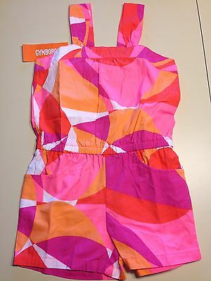 *NWT GYMBOREE* Girls BRIGHT and BEACHY Kaleidoscope Print Romper Outfit Size 5